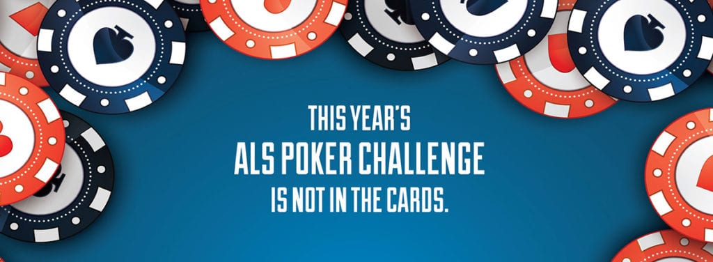 ALS Poker Tourney Not in the Cards this Year. Donate and support ALS patients in the Ozarks.
