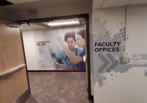 Cox College Sneak Peek at Renovation Project