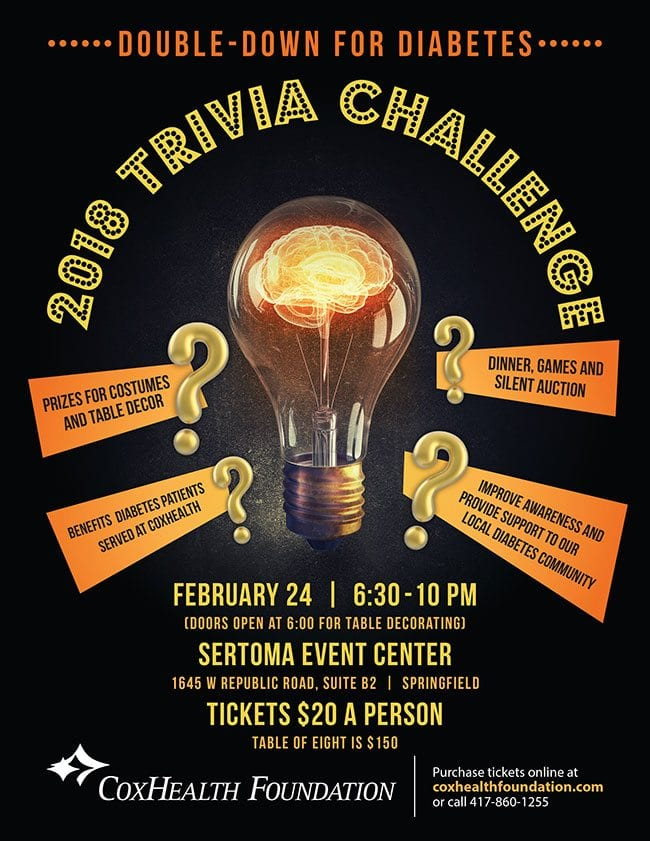 Double Down for Diabetes Trivia Night