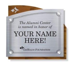 Alumni Center Signage