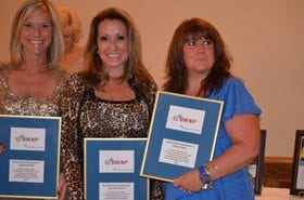 Volunteers are recognized for their dedication to raising awareness about Colorectal Cancer
