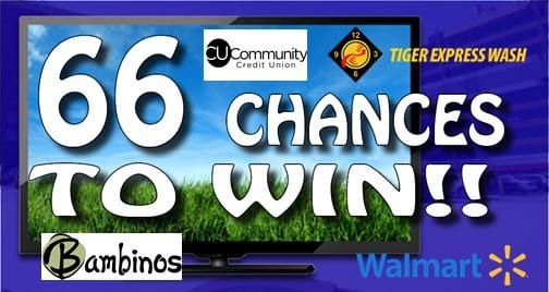 66 Chances To Win!