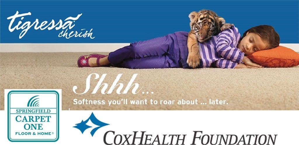 Tigressa Super Soft Carpet Raffle Coxhealth Foundation