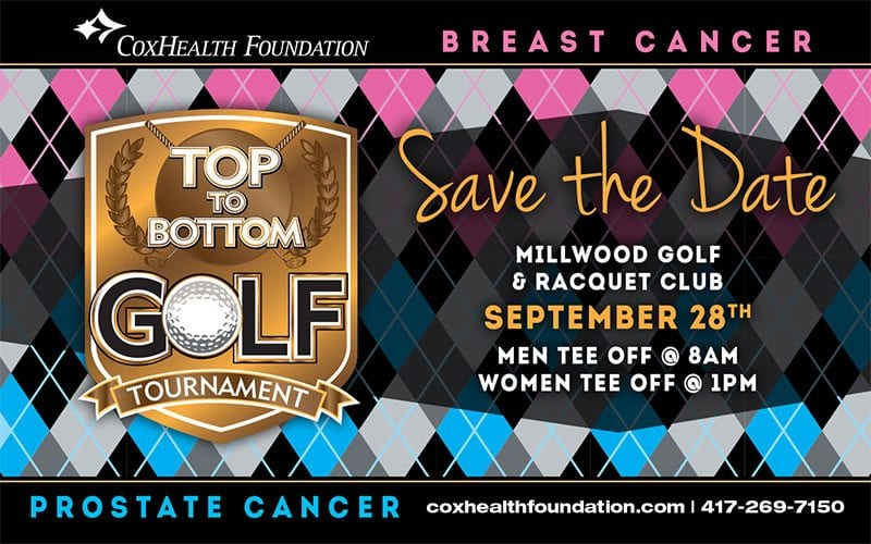 Top to Bottom Golf Tournament (formerly known as Ozarks Women's Links and Boys Against Breast Cancer)